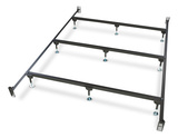 Metal Headboard/Footboard Bed Frame - Queen Size