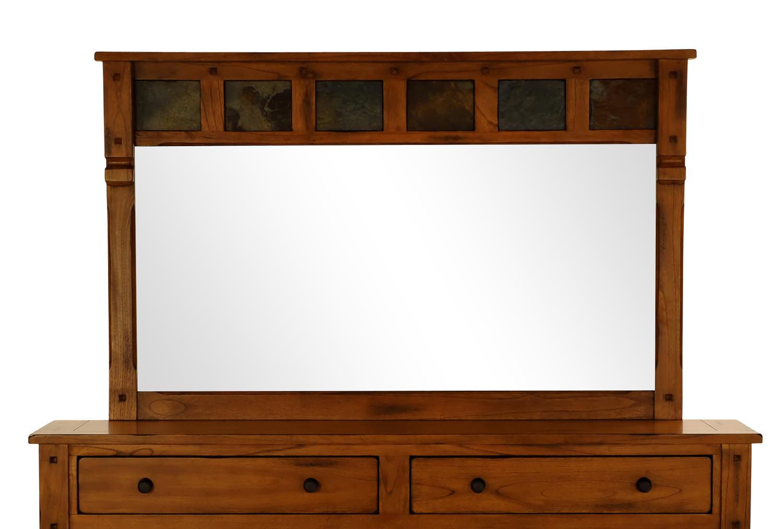 Sedona Rustic Oak Mirror