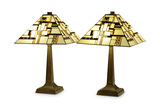 Milton Mission Table Lamp. Buy one, get one free.