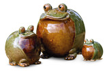 Frogs set of 3