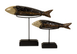 S/2 Erie Fish Sculptures