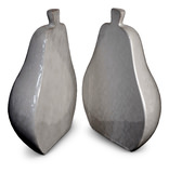 S/2 Pear Bookends