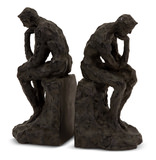 S/2 Thinking Man Bookends