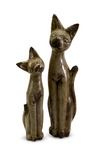 S/2 Aoloni Cat Figurines
