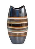 Banded Ceramic Vase