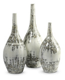 Hampton Mexican Pottery Vases Set of 3