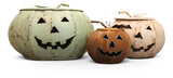 Rustic Pumpkin Lantern Small