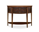 Lisbon Demilune Console Table