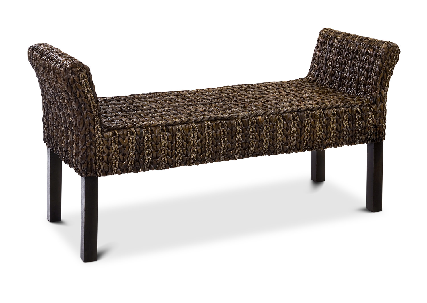 Woven Bench Hom Furniture