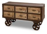 Rustic Cart Cabinet