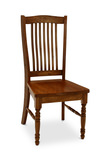 Urbandale solid oak side chair