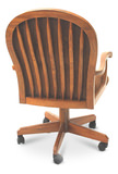 Classic Oak Caster Chair