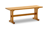 Sedona Oak side bench