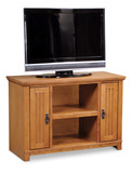 "Arts and Crafts 41"" Mission Media console"