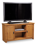 "Arts and Crafts 51"" Mission media console"