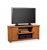 "Arts and Crafts 61"" Mission Media console"