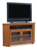 "Arts and Crafts 55"" Corner Media Console"