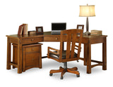 Craftsman Home Corner Desk