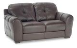 Mullin Leather Condo Sofa