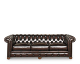 Edgar Leather Sofa