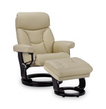 Athos Swivel Recliner And Ottoman