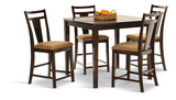 Arkitect Counter high table and 4 stools