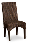 Sidney Chocolate Water Hyacinth Chair