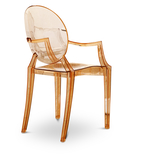Anime Clear Orange Ghost Chair
