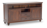 Springfield Media console by Amish Craftsmen