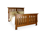 Amish Craftsmen Aurora Queen Bed