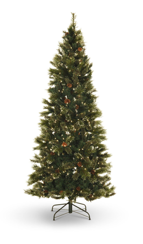 Oregon Pine 7.5' Pre-Lit Artificial Christmas Tree Clear Lights