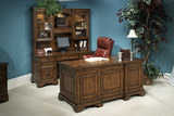 Northern Oak Executive Desk
