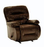 Maddox Bonded Leather Rocker Recliner