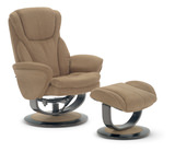 Bogy Swivel Recliner and Ottoman