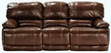 Belmont Leather Power Recline Sofa