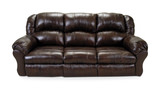 Denson Power Recline Leather Sofa