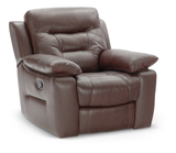 Chaplin Leather Wallhugger Recliner