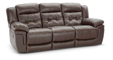 Hallmark Leather Power Recline Sofa