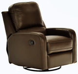Moxy Leather Swivel Glider Recliner