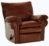 Randall Leather Rocker Recliner