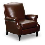 Chloe Leather Pushback Recliner