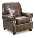 Dylan Leather Low Leg Recliner