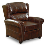 Bencini Leather Low Leg Recliner
