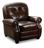 Thyme Leather Low Leg Recliner