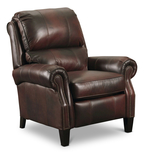 Hogan Leather High Leg Recliner