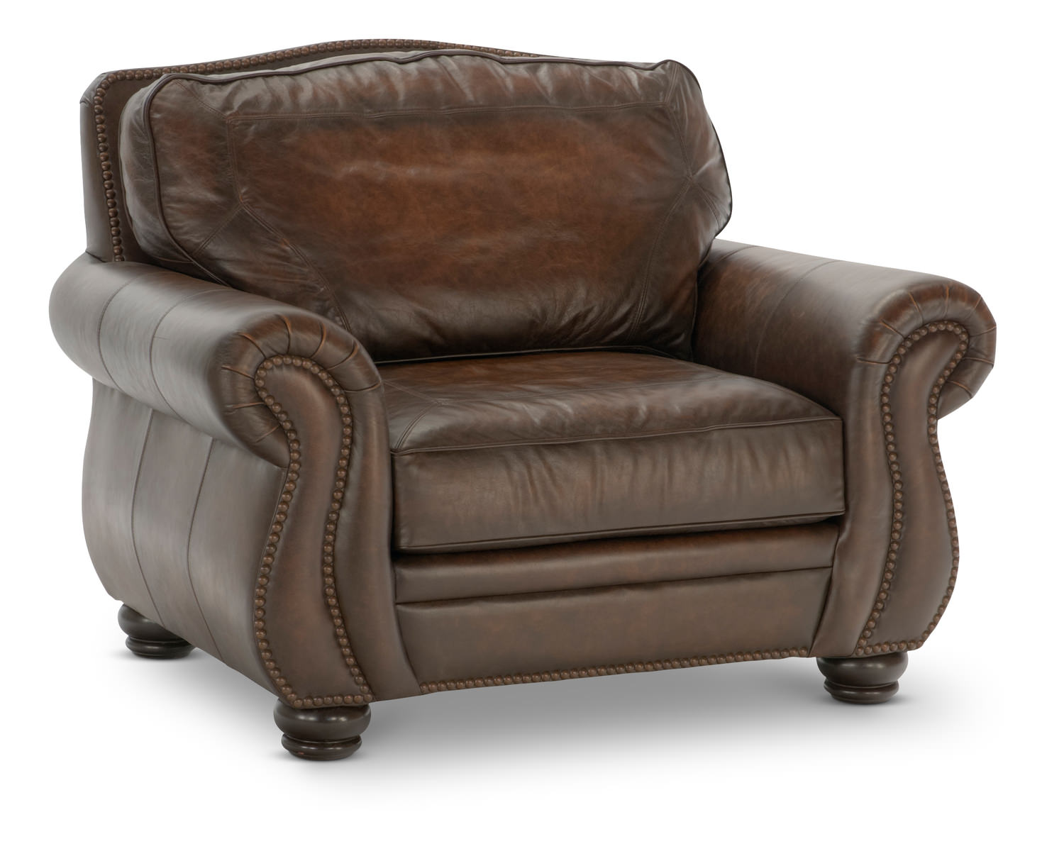 Breckenridge Leather Sofa By Bernhardt Images Frompo