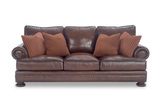 "Foster Elite 98"" Leather Sofa by Bernhardt"