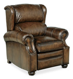 Warner I I Leather Recliner by Bernhardt