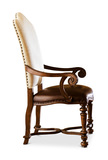 Bolero Leather/Upholstery Arm Chair