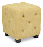 angelo:HOME Duncan Small Button Tufted Ottoman